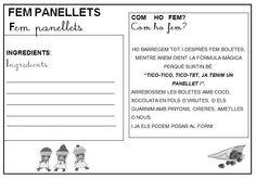 Recepta panellets P5