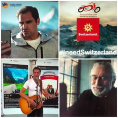 Auf etwas stolz sein, an etwas Freude haben wird in der Schweiz schnell mal aus prahlerisch und grossspurig empfunden. Sich selbst rühmen sollte man auch nicht. Aber es muss einfach raus. Auf Shitstorm komm raus. 😉 Heute stand ich - wenn auch nur indirekt und outsiders nur mit der Lupe erkennbar - mit Roger Federer Robert de Niro & Michelle Hunziker indirekt auf der Bühne vom #ferientag von Schweiz Tourismus. Dass aber Bastian Biker vor meinem Post, welchen ich im meinem Heimattal Lauterbr