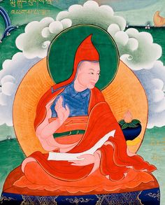 Haribhadra (700-770) Disciple of Santaraksita, most important commentator on the Prajnaparamita-sutras who began a lineage that flourished for centuries in India and Kashmir. In a vision, Maitreya instructed Haribhadra to study all the texts, select the correct ones and compile his own commentary. Under the patronage of King Dharmapala he came to east India and taught Dharma to thousands. Becoming the king's teacher, 50 temples were constructed, including the great university of Vikramasila.