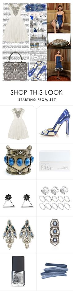 """Loving me is all you need to feel Like I do We could slow dance to rock music Kiss while we do it Talk 'til we both turn blue Baby, if you wanna leave Come to California Be a freak like me, too  Leather black and eyes of blue (blue, blue, blue)"" by labelsoflove ❤ liked on Polyvore featuring Ted Baker, Christian Louboutin, Dolce&Gabbana, DANNIJO, STELLA McCARTNEY, NARS Cosmetics, Glenda López, ASOS, Elizabeth Cole and Loree Rodkin"