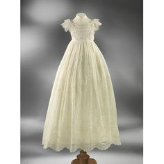 Long gown, 1850s