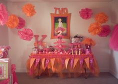 tutu's and ties birthday party. maybe for Nedela's birthday 2nd Birthday Parties, Birthday Party Invitations, Birthday Ideas, Birthday Recipes, Tutu Party, Elmo Party, Orange Party, Bday Girl, Pink Parties