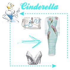 """""""Cinderella"""" by bebe-lindsss on Polyvore featuring Dolce&Gabbana"""