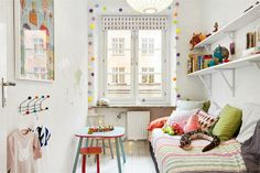 Kids room, Östgötagatan 55, Katarina, Stockholm. #bunnyinthewindow