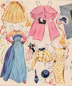 Grace Kelly paper dolls