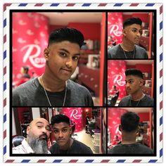 Dos Jorges y ya  todo un clásico Fade 💈💈#fade #barberlife #estilistas #ronco #moda #peluqueros #color #creacion #hair @cokeronco
