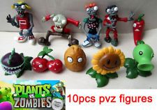 10PCS PVZ Plants vs Zombies Game Figures Character Collection Doll