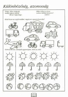 Albumarchívum Preschool Worksheets, Preschool Activities, Math For Kids, Kindergarten Math, Pre School, Special Education, Kids And Parenting, Album, Teaching