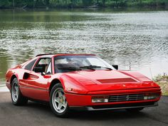 Ferrari 328 GTS US-spec '1985–89. A car I'd like to work on with my own hands!