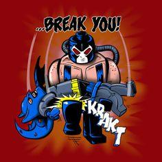 Bane Breaks Bats Back