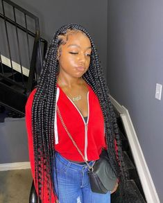 Braided Hairstyles For Black Women Cornrows, Box Braids Hairstyles For Black Women, Braids Hairstyles Pictures, Black Girl Braids, African Braids Hairstyles, Braids For Black Hair, Weave Hairstyles, Pretty Hairstyles, Hairstyle Short