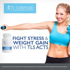 Supplements for Stress - TLS ACTS - SHOP.COM/4anewyou #stressfree #losethefat