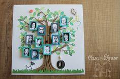 DIY - Árvore da Família