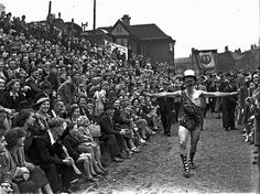 Mr Universe - From Easington Lane at the Durham Big Meeting / Miner's Gala 1951 Easington Colliery, Jack Charlton, Durham City, St Johns College, Victorian Buildings, North East England, Lest We Forget, Coal Mining, Most Beautiful Cities