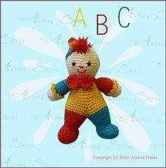 0c950143f730 Amigurumi Little Clown pattern by Akinna Stisu