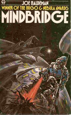 Publication: Mindbridge  Authors: Joe Haldeman Year: 1977-08-00 ISBN: 0-86007-932-5 [978-0-86007-932-3] Publisher: Orbit  Cover: Josh Kirby