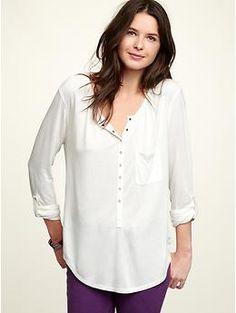 i have this in black and it is my favorite shirt!