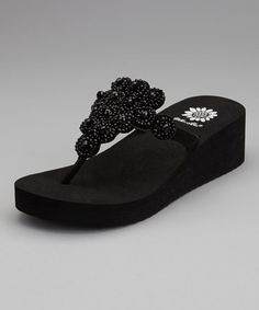 Take a look at this Black Almeda Sandal by Yellow Box Shoes on #zulily today! $29.99, regular 56.00