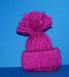 Pudelmütze aus Wolle und Toilettenpapierrolle | Bastelfrau
