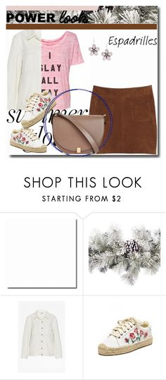"""""""Girl Power"""" by peeweevaaz ❤ liked on Polyvore featuring Amara, Kookaï, Soludos, Victoria Beckham, outfit, polyvoreeditorial, polyvorefashion and MyPowerLook"""