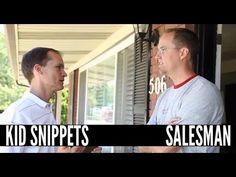 BoredShortsTV - Kid Snippets - Salesman...hilarious