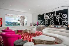 Gwen Stefani Selling Home Family Room