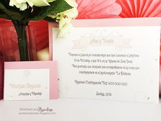 Invitación Banderola Rosa
