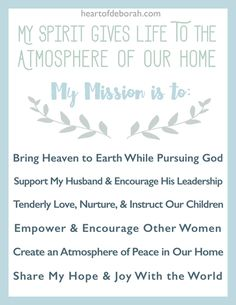 Family Mission Statement  ItS How We Have Fun