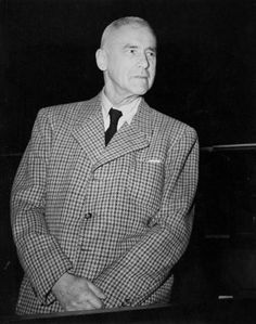 Wilhelm Frick at the Nuremberg War Crimes Trials, Germany, 1945-1946 -----Before-----
