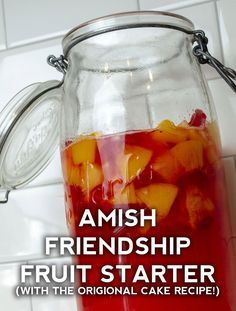 Friendship Fruit Starter And Cake – Page 2 – Mamamia Recipes Friendship Bread Recipe, Friendship Bread Starter, Amish Friendship Bread, Brandied Fruit Cake Recipe, Cake Cookies, Cupcake Cakes, Cupcakes, Fruit Cakes, Amish Recipes