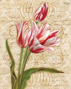 Цветочный винтаж в картинках. 1 часть.   Творческая мастерская Марины Трублиной