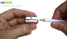 キックスターターは多くのデザイン・ビジネスを生み出しているインキュベーターだ。再生紙で作られたこのレインボー鉛筆もその一つ。