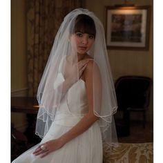 Joyce Jackson Sapporo Wedding Veil is just £75.00   Crystal Bridal Accessories…