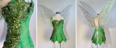 Tinkerbell Cosplay Dress by glimmerwood.deviantart.com on @DeviantArt  I love the detailing on this
