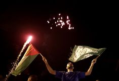 """UNDATED - PHOTO ESSAY - CEASEFIRE - AFTERMATH - """"Gaza ceasefire in pictures: Palestinians celebrate truce between Hamas and Israel."""""""
