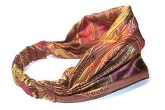 Head Scarf with Covered Elastic - 1