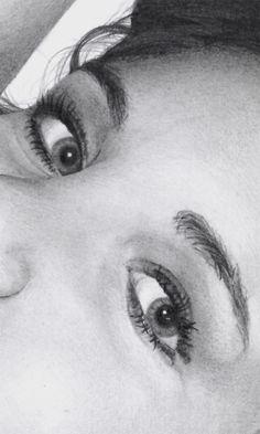 Drawing Eyes Detail Image - RyanKennedyArt