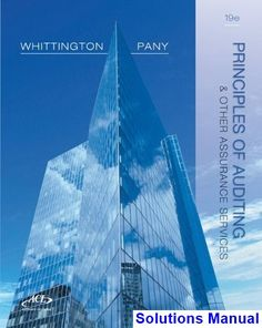 Advanced accounting 12th edition fischer test bank free download solutions manual for principles of auditing and other assurance services 19th edition by whittington fandeluxe Image collections