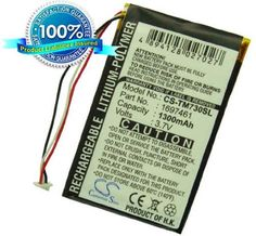 1300mAh Li-Polymer Battery for TomTom Go 530, Go 530 Live, Go 720, Go 730, Go 730T, Go 930, 930T, Go 630, Go 630T by Generic. $10.85. No Tools and No installation instructions included