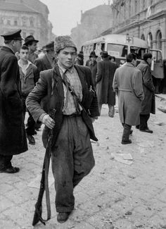 The 1956 Hungarian Revolution – in pictures European History, World History, Border Guard, Russian Revolution, Freedom Fighters, Life Goes On, Life Magazine, Military History, The Guardian