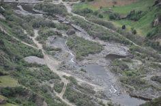 Minería en pleno río Tellez. Funes.
