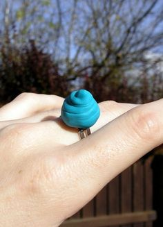 Prisoner, Fantasy, Floral, Rings, Flowers, Jewelry, Candy, Fimo, Jewlery