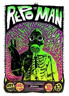 Repo Man by Adam Pobiak for Dublin's Midnight Movie Film Club