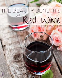 Red wine isn't only good for your heart, but will also do wonders for your skin. Find out why red wine is a great addition to your beauty routine. Red Wine Benefits, Lemon Benefits, Wine Names, Need Wine, Pinot Noir Wine, Wine Guide, Wine Bottle Opener, Bottle Labels, Expensive Wine