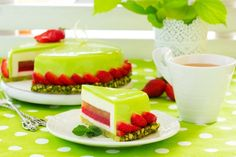 Zrkadlová glazúra na torty a múčniky | Božské recepty Sweet Recipes, Cake Recipes, Dessert Recipes, Fancy Desserts, Just Desserts, Strawberry Mousse Cake, Patisserie Design, Russian Cakes, Pastry Design