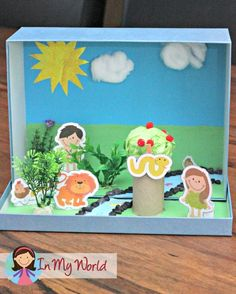 Adam and Eve Story Box + Printables