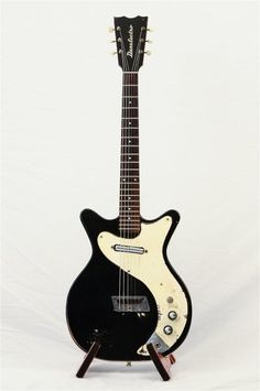 Vintage 1960's Danelectro 4011, Black and White