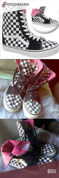 VANS RARE Dustin Dollin Skateboard Shoes Size U.S. Women 8.5