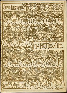"""capricedubibliophile: """" Manuel Orazi's (1860-1934) art for Jean Lorrain's Ma Petite Ville. Paris: Société française d'éditions d'art, 1898 """" Read more about this book here at the National Library of..."""