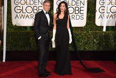 George Clooney repete smoking do casamento no Globo de Ouro